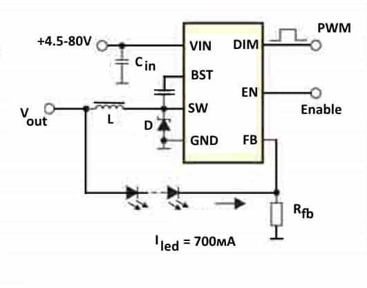 Пример включения МР4688