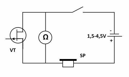 Простой детектор на полевом транзисторе