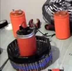 Размещение конденсаторов на панели