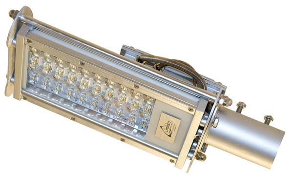 вариант сочетания консоли и светодиодов
