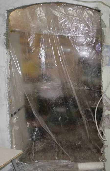 Организация пылезащитной занавески