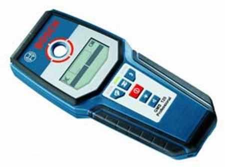 Прибор детектор проводки от компании Bosh (модель GMS 120)
