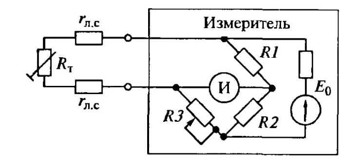 Пример подключения по мостовой схеме