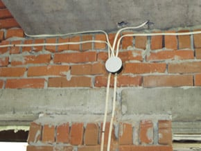 Электрическая разводка в квартире схема