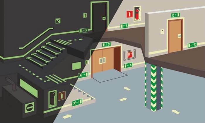 Требования к системам аварийного освещения