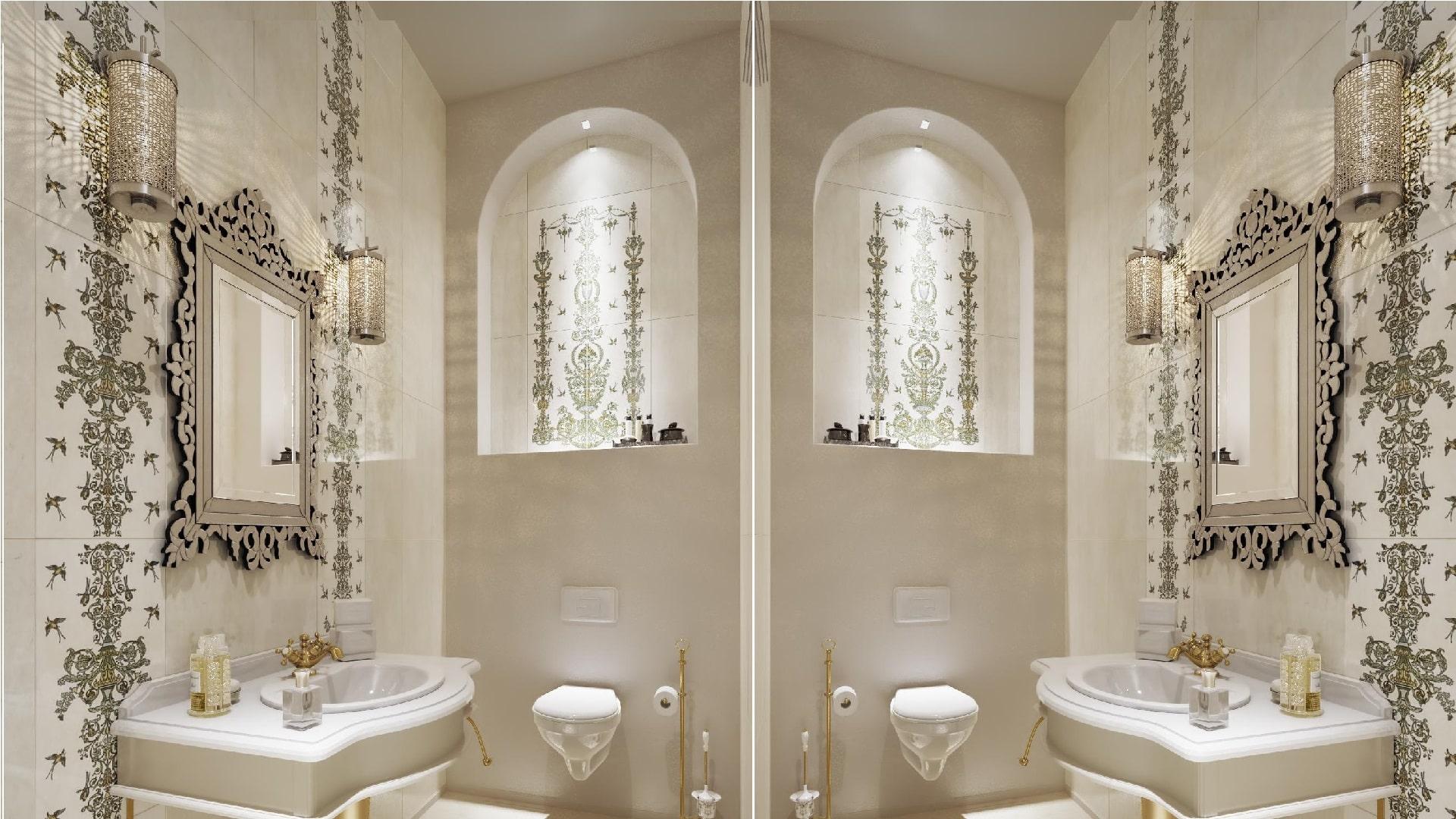 Декоративная подсветка в ванной