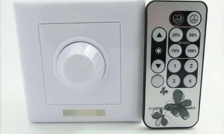 Диммер с выносным пультом для управления домашними LED лампами