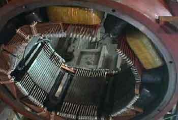 Обмотка возбуждения двигателя постоянного тока