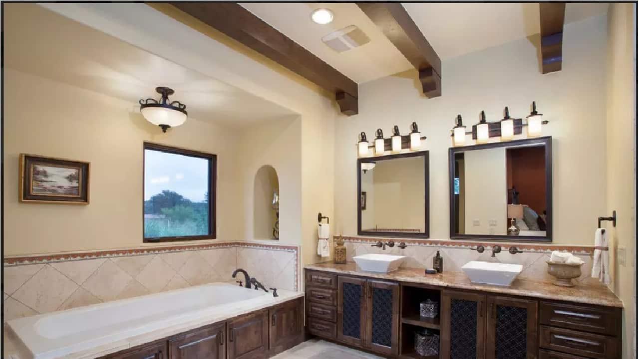 Разделение ванной по нескольким зонам