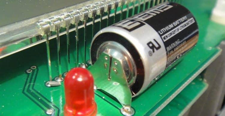 Батарейка в электросчетчике Меркурий 230 АRT