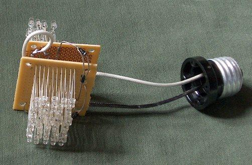 короткие провода светодиодов