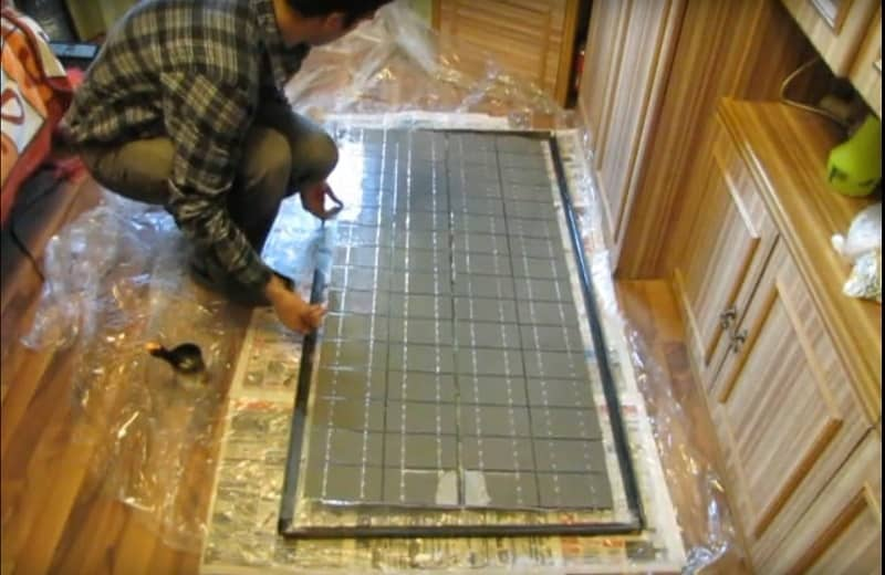 Соберите солнечную батарею
