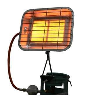 Переносной обогреватель инфракрасный газовый обогреватель