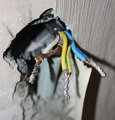 Провода для варочной панели