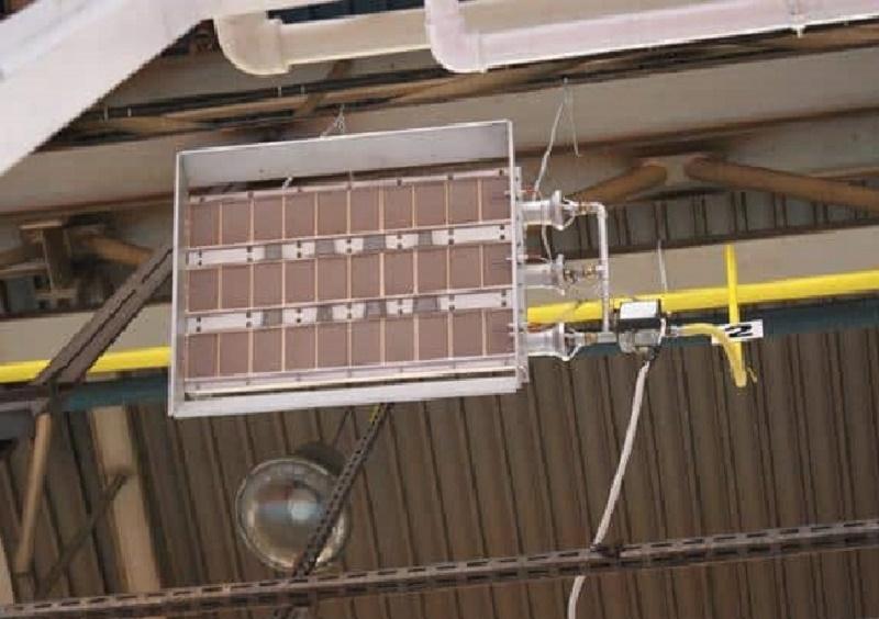 Потолочный ИК газовый обогреватель
