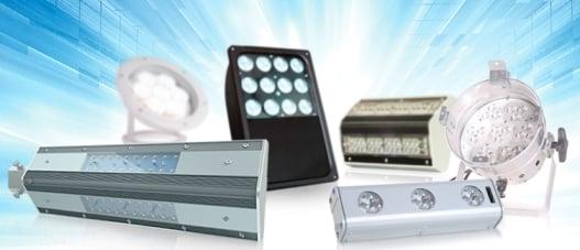 Разнообразие светодиодных уличных светильников