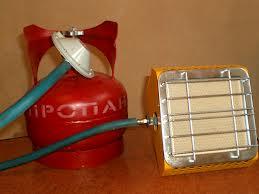 Самодельный инфракрасный газовый обогреватель