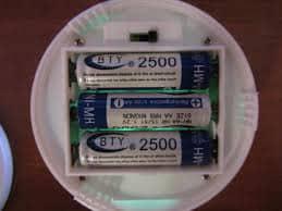 Светильник на пальчиковых батарейках
