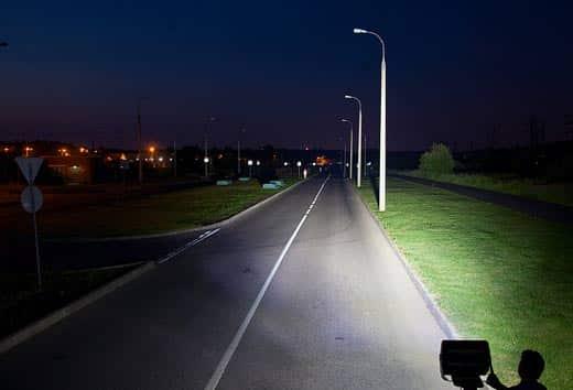 Как светит прожектор 50 ватт