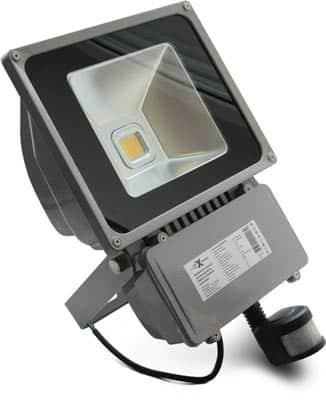 Прожектор luxe с датчиком