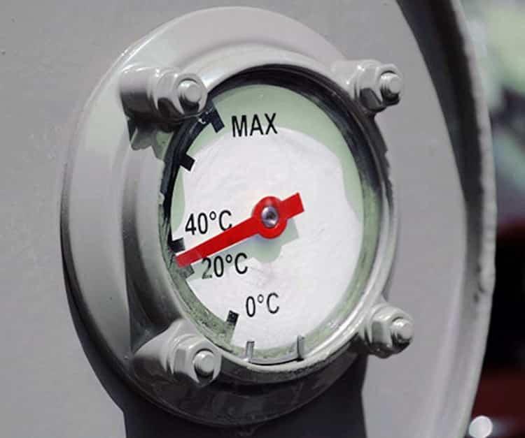 Индикатор температуры масла