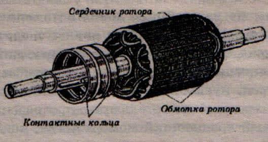 Конструкция фазного кранового электродвигателя