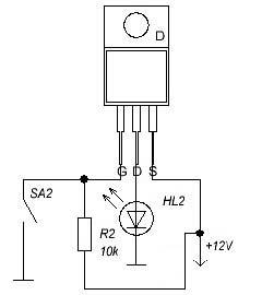Реле на транзисторе