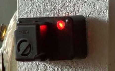 Лазерная сигнализаци