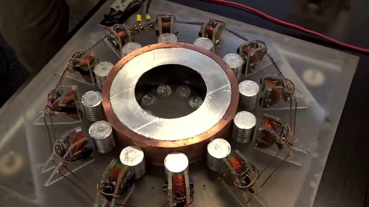 Общий вид генератора Серла