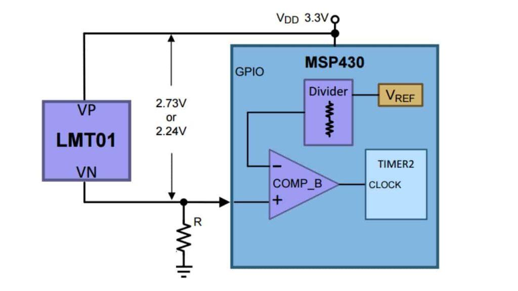 Подключение полупроводникового датчика через усилитель