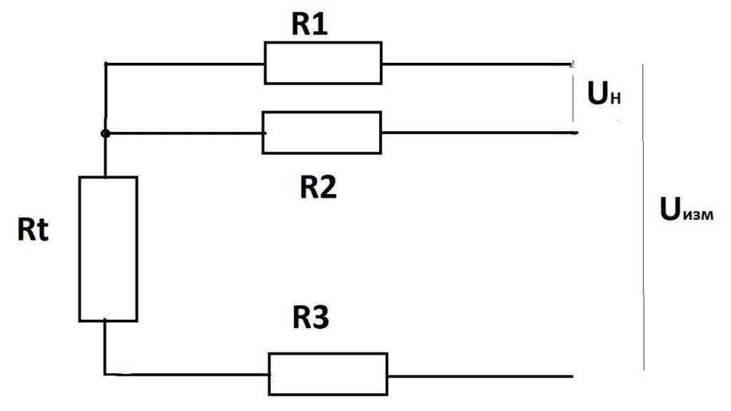 Трехпроводная схема подключения