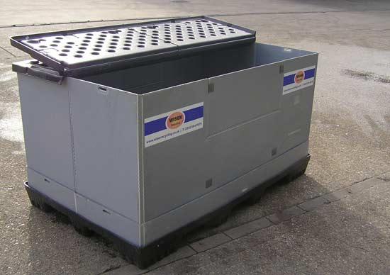 Вид контейнера для утилизации