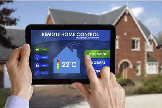 Контроль дома через планшет