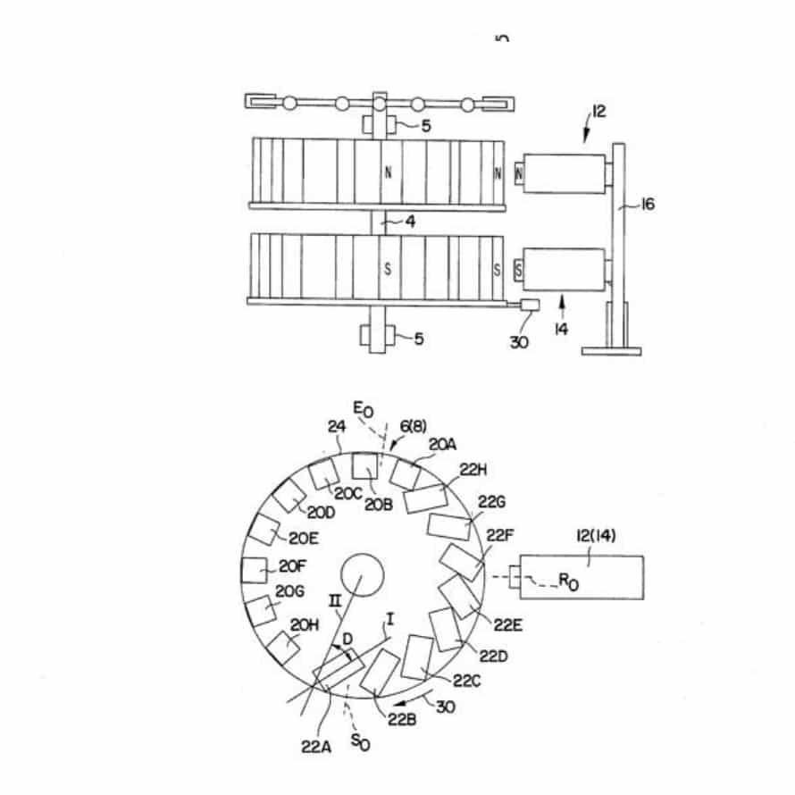 Схема двигателя Минато