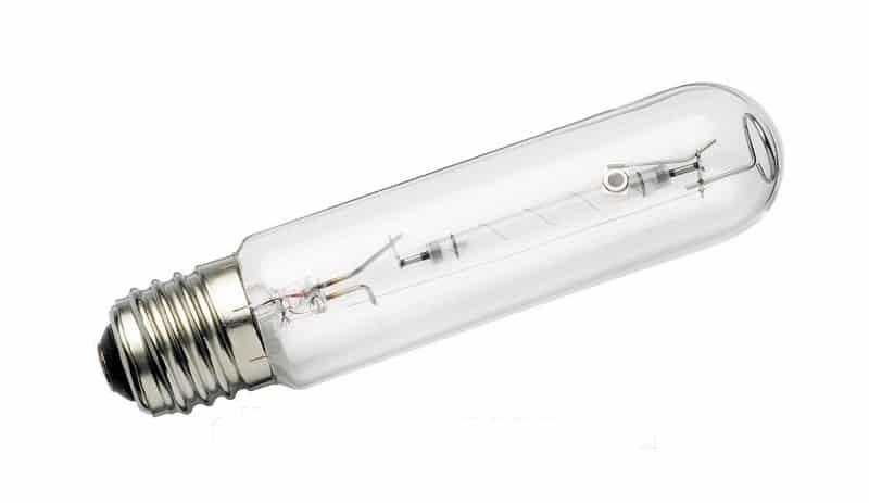 Фото натриевой лампы