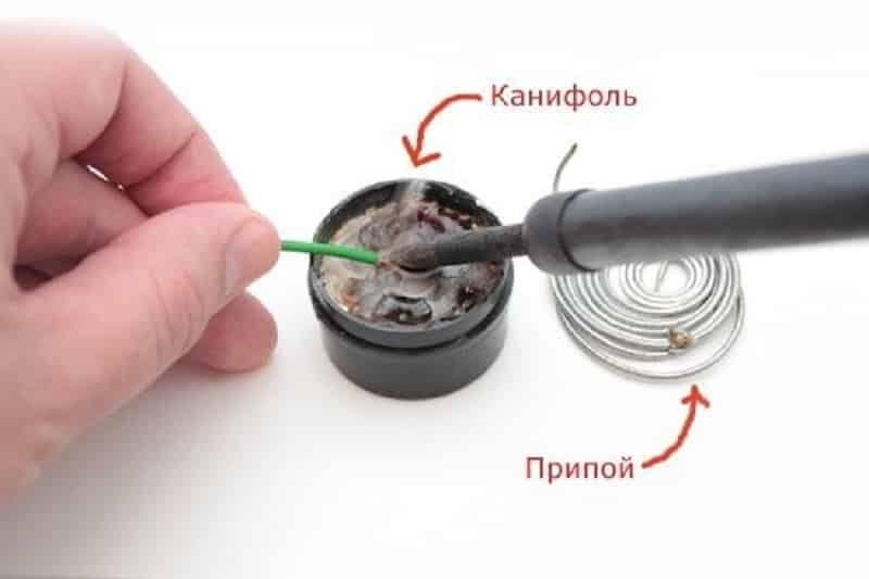 Как правильно паять паяльником микросхемы