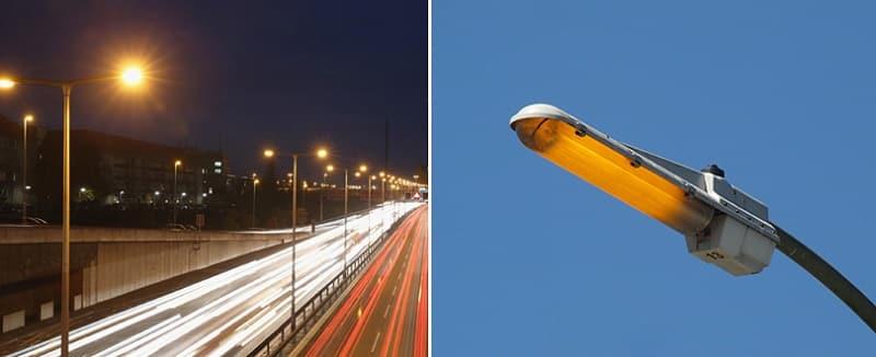 Уличное освещение с помощью НЛ