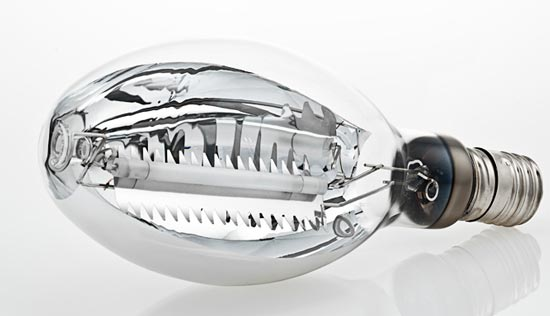 Зеркальная натриевая лампа