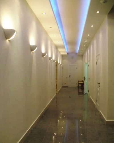 Датчики включения света в коридоре