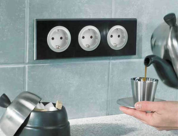 Фото - розетки для кухни