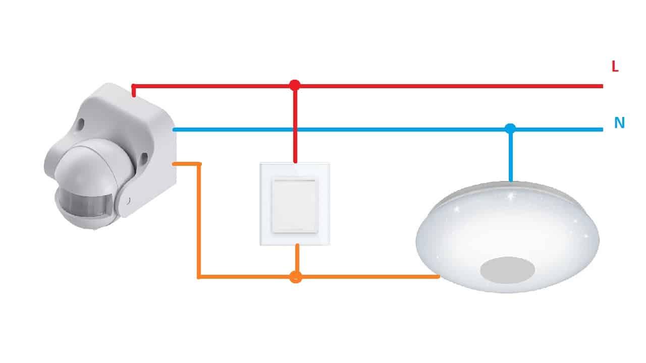 Схема с шунтирующим выключателем