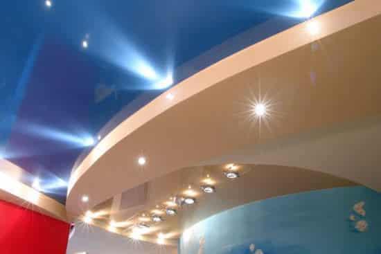 Галогеновые лампы в интерьере