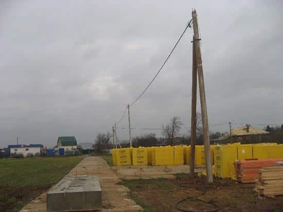 электрификация загородного участка
