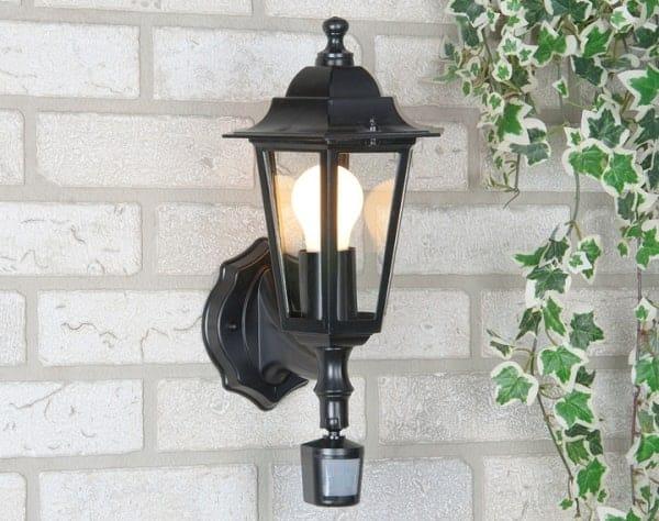 датчик движения с лампой