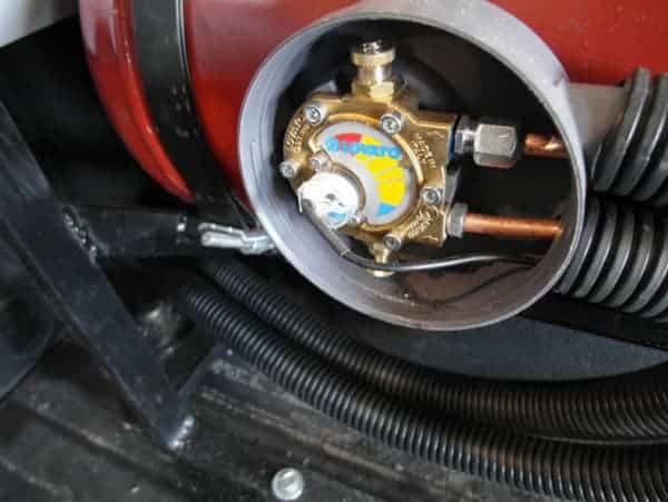 датчик газа на мультиклапане