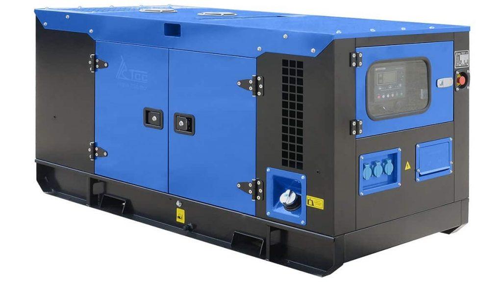 Дизельный генератор с автозапуском закрытого типа