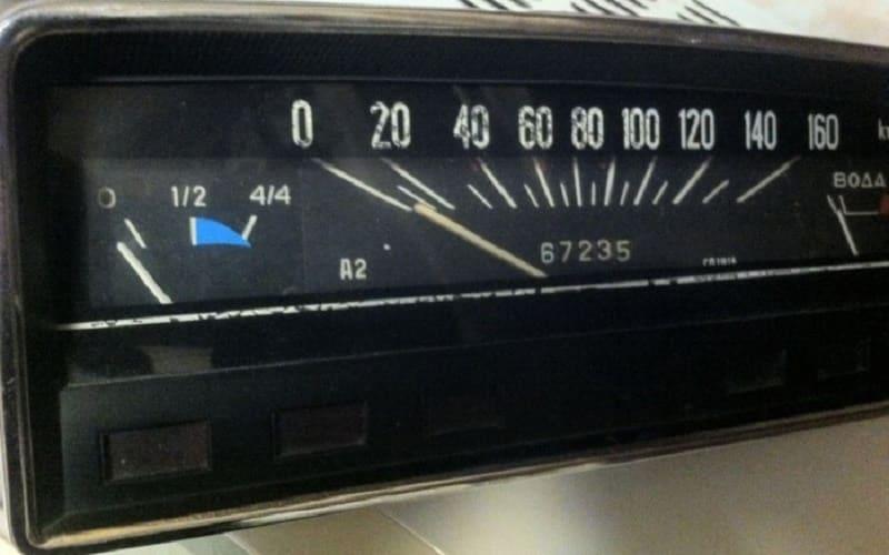 Комбинированный индикатор уровня бензина/газа