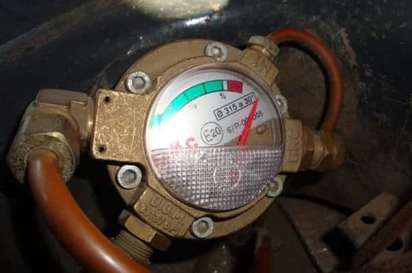 мультиклапан на метане