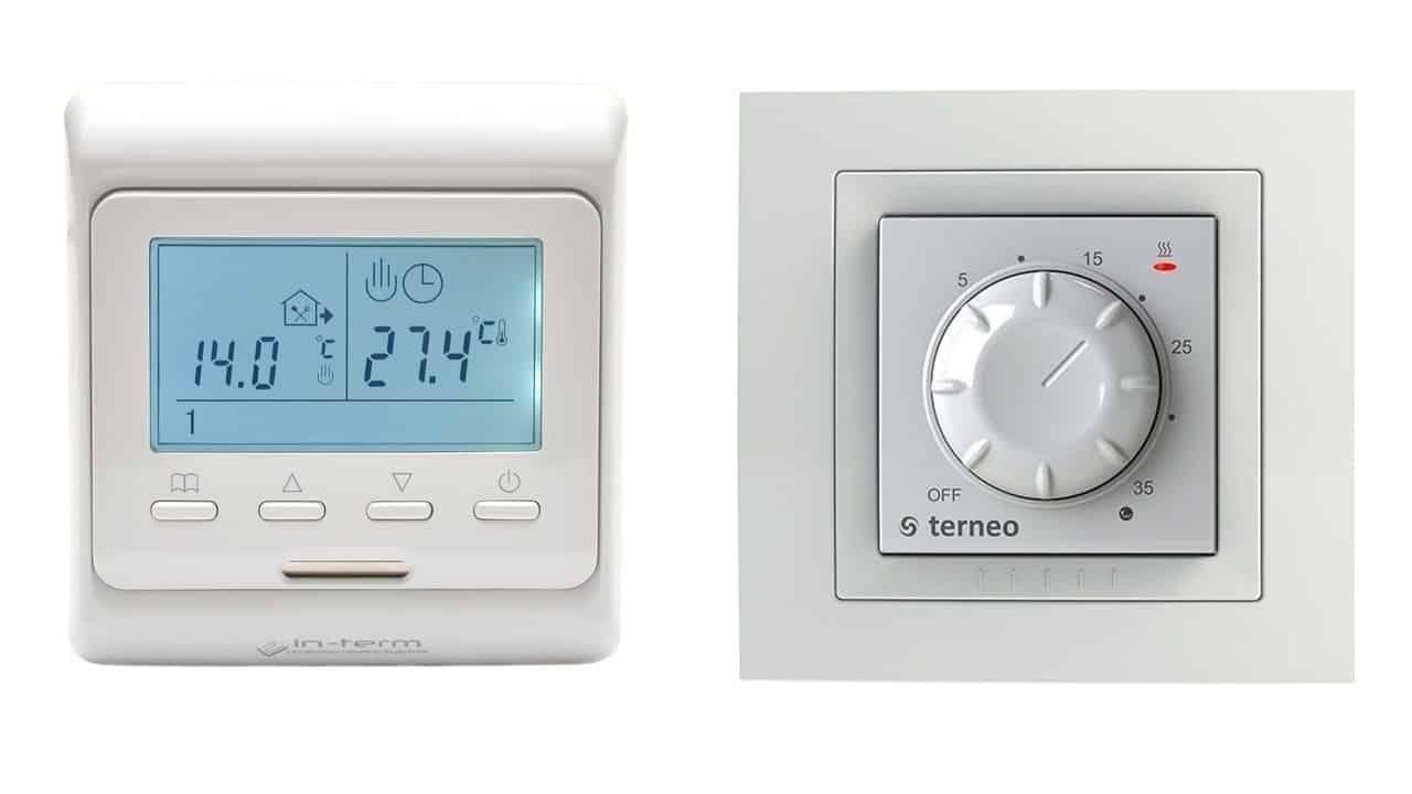Цифровой и электромеханический терморегулятор