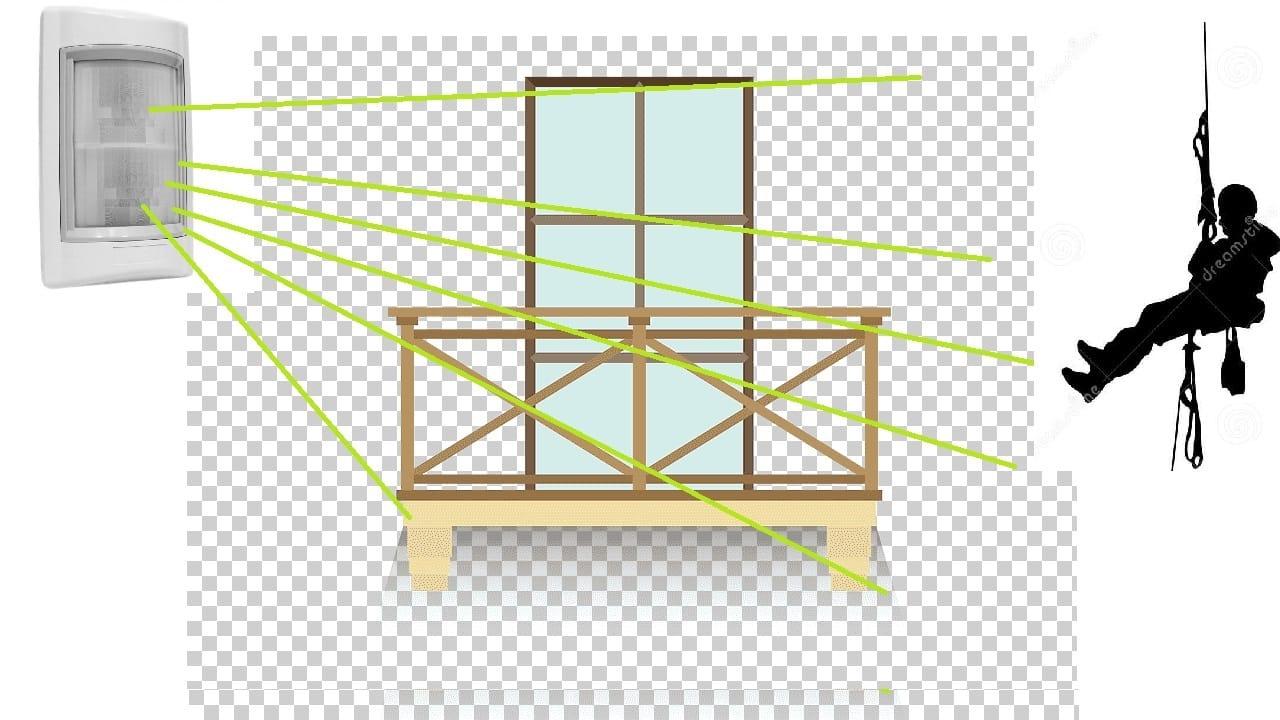 Установка для открытого балкона